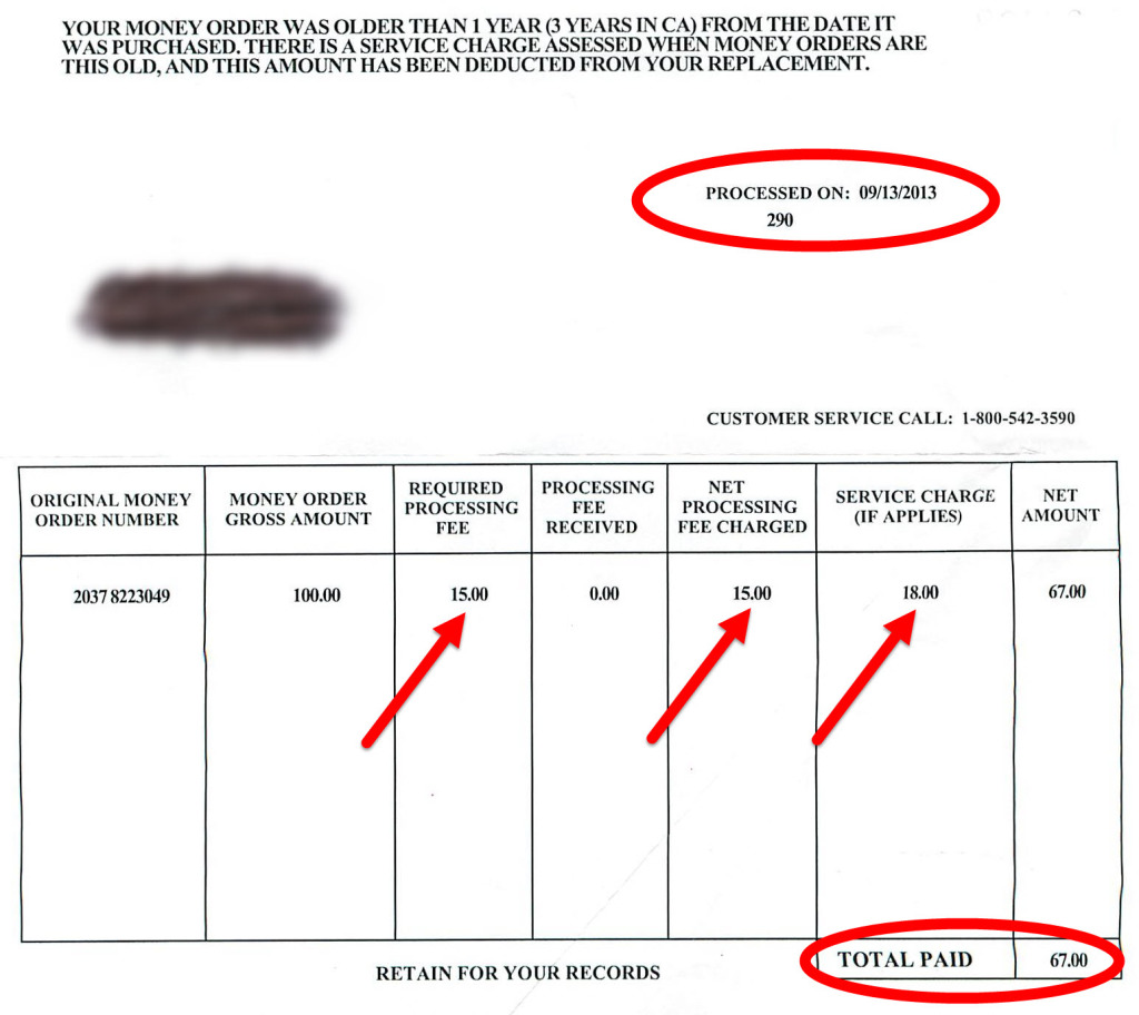 Prison Or Freedom - Moneygram's Ripoff $100 Money Order Refund